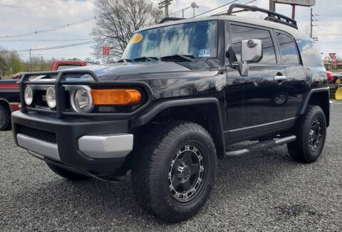 2009 Toyota FJ Cruiser for sale at CANDOR INC in Toms River NJ