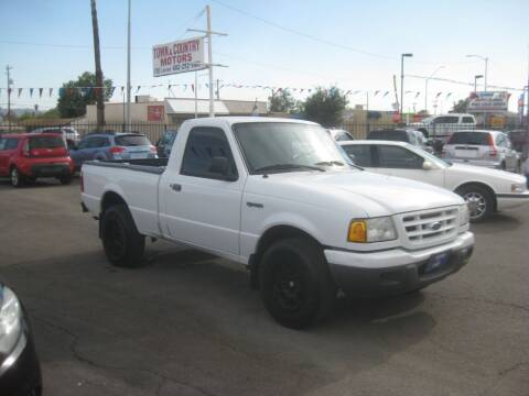 2002 Ford Ranger for sale at Town and Country Motors - 1702 East Van Buren Street in Phoenix AZ