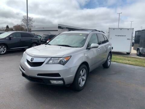 2011 Acura MDX for sale at BORGMAN OF HOLLAND LLC in Holland MI