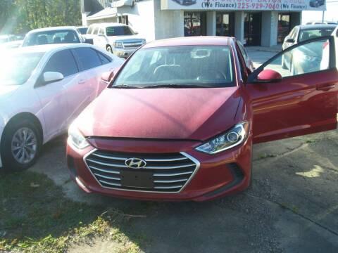 2017 Hyundai Elantra for sale at Louisiana Imports in Baton Rouge LA