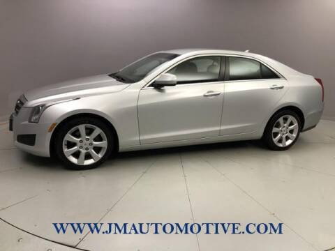 2014 Cadillac ATS for sale at J & M Automotive in Naugatuck CT