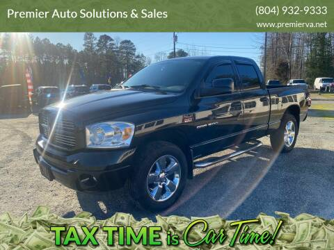 2007 Dodge Ram Pickup 1500 for sale at Premier Auto Solutions & Sales in Quinton VA
