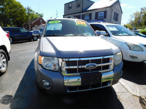 2008 Ford Escape for sale at WOOD MOTOR COMPANY in Madison TN
