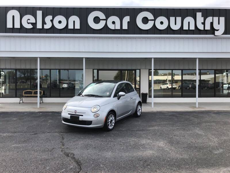 2014 FIAT 500 for sale at Nelson Car Country in Bixby OK