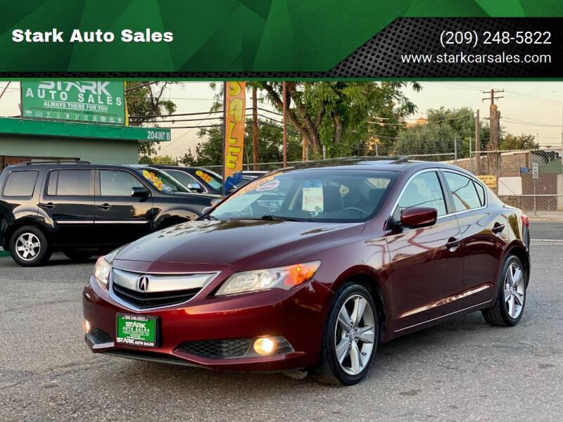 2013 Acura ILX for sale at Stark Auto Sales in Modesto CA