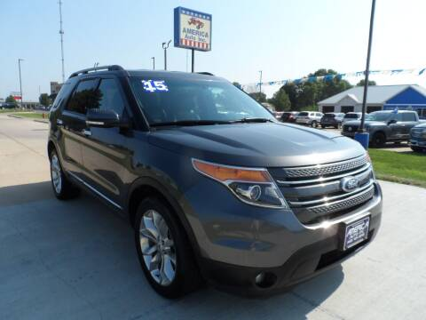 2015 Ford Explorer for sale at America Auto Inc in South Sioux City NE