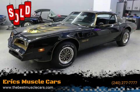 1977 Pontiac Trans Am for sale at Erics Muscle Cars in Clarksburg MD