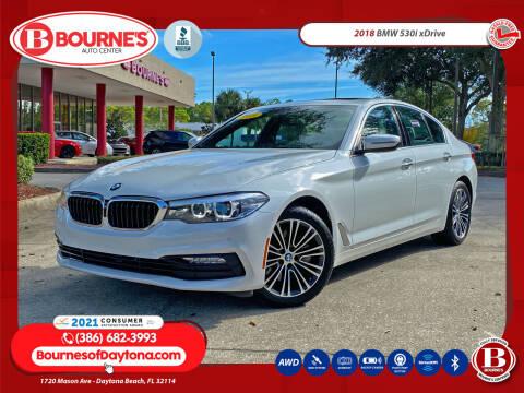 2018 BMW 5 Series for sale at Bourne's Auto Center in Daytona Beach FL