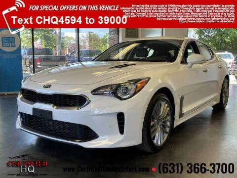 2018 Kia Stinger for sale at CERTIFIED HEADQUARTERS in St James NY