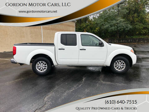2016 Nissan Frontier for sale at Gordon Motor Cars, LLC in Frazer PA