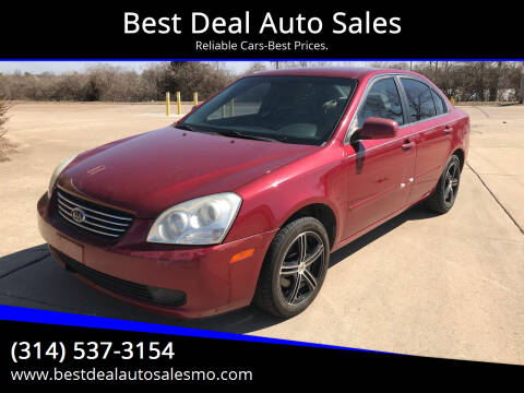 2008 Kia Optima for sale at Best Deal Auto Sales in Saint Charles MO