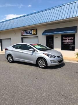 2016 Hyundai Elantra for sale at BRIDGEPORT MOTORS in Morganton NC