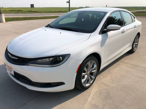2015 Chrysler 200 for sale at SPANGLER AUTOMOTIVE in Glidden IA