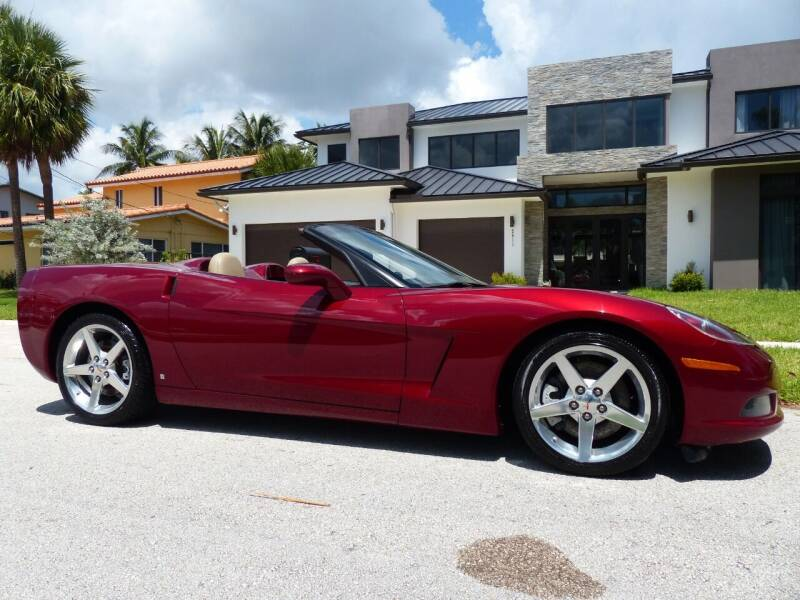 2006 Chevrolet Corvette for sale at Lifetime Automotive Group in Pompano Beach FL