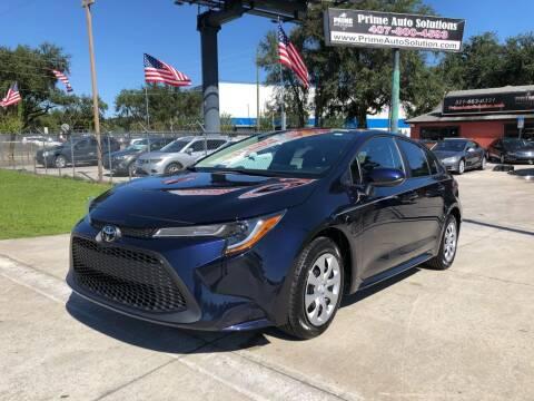 2020 Toyota Corolla for sale at Prime Auto Solutions in Orlando FL