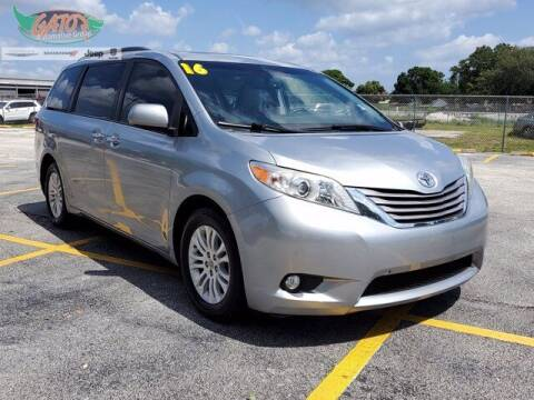 2016 Toyota Sienna for sale at GATOR'S IMPORT SUPERSTORE in Melbourne FL