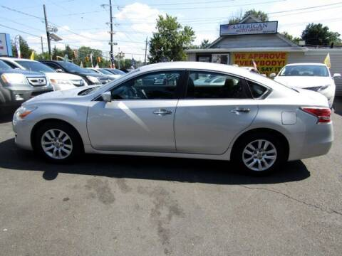 2015 Nissan Altima for sale at American Auto Group Now in Maple Shade NJ
