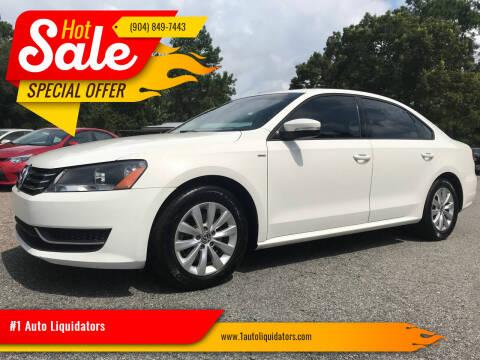 2015 Volkswagen Passat for sale at #1 Auto Liquidators in Yulee FL