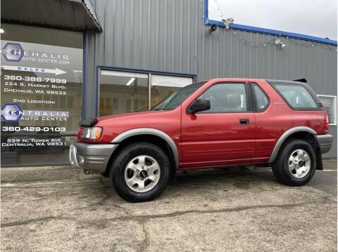 2000 Isuzu Amigo for sale at Chehalis Auto Center in Chehalis WA