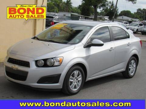 2015 Chevrolet Sonic for sale at Bond Auto Sales in St Petersburg FL