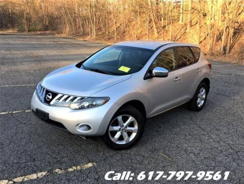 2010 Nissan Murano for sale at Wheeler Dealer Inc. in Acton MA