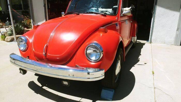1975 Volkswagen Super Beetle for sale in Cadillac, MI