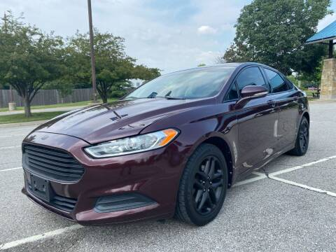 2013 Ford Fusion for sale at Nationwide Auto in Merriam KS
