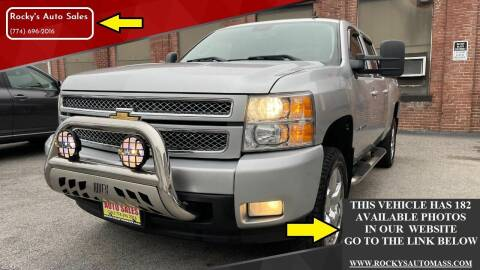 2012 Chevrolet Silverado 1500 for sale at Rocky's Auto Sales in Worcester MA