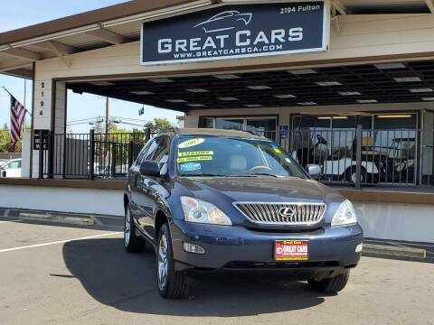 2007 Lexus RX 350 for sale at Great Cars in Sacramento CA