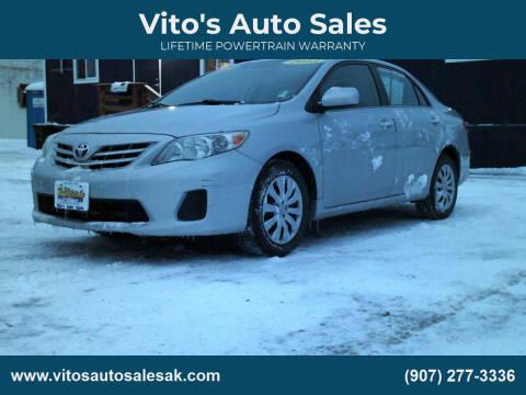 2013 Toyota Corolla for sale at Vito's Auto Sales in Anchorage AK