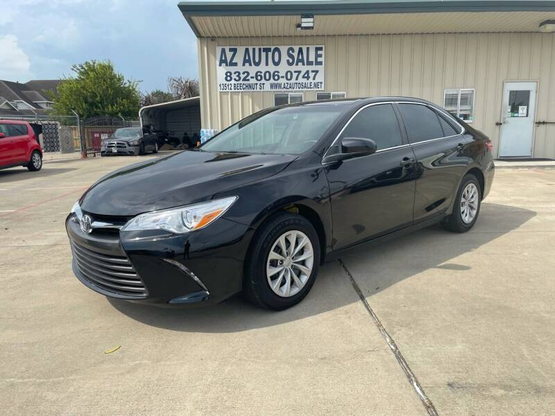 2017 Toyota Camry for sale at AZ Auto Sale in Houston TX