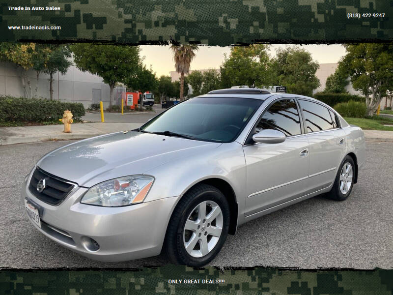 2003 Nissan Altima for sale at Trade In Auto Sales in Van Nuys CA