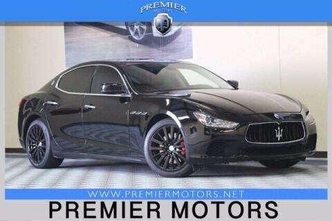 2015 Maserati Ghibli for sale at Premier Motors in Hayward CA