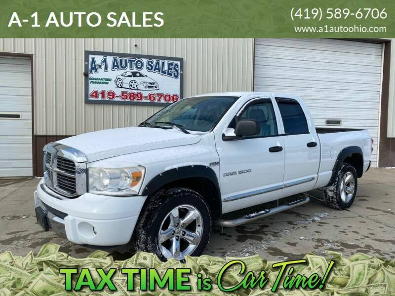 2007 Dodge Ram Pickup 1500 for sale at A-1 AUTO SALES in Mansfield OH