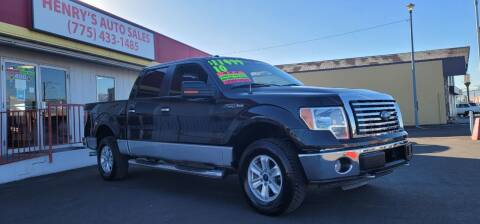 2010 Ford F-150 for sale at Henry's Autosales, LLC in Reno NV