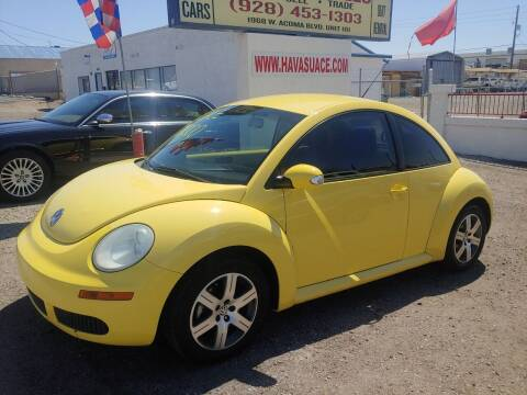 2006 Volkswagen New Beetle for sale at ACE AUTO SALES in Lake Havasu City AZ