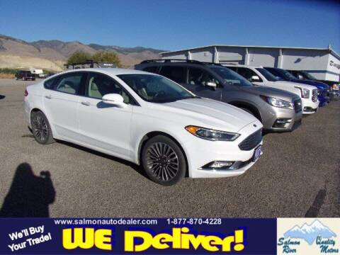 2017 Ford Fusion for sale at QUALITY MOTORS in Salmon ID