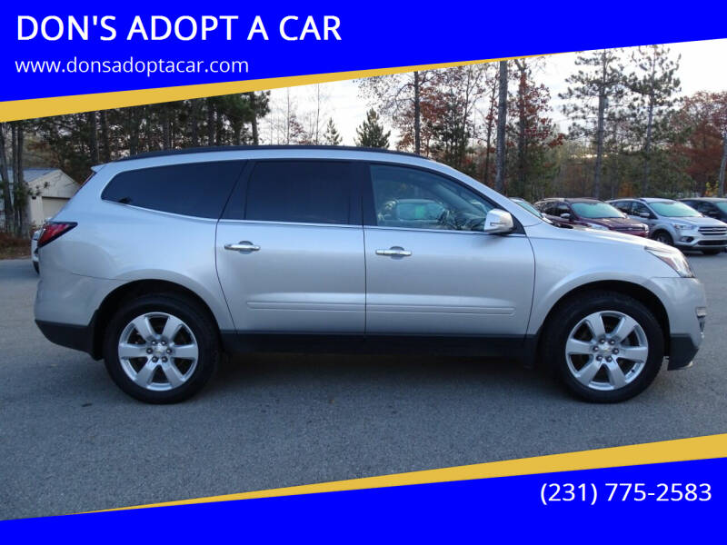 2017 Chevrolet Traverse for sale at DON'S ADOPT A CAR in Cadillac MI
