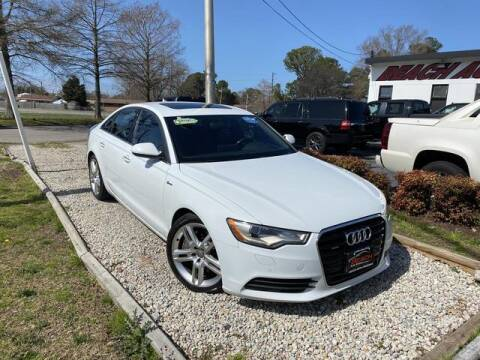 2014 Audi A6 for sale at Beach Auto Brokers in Norfolk VA