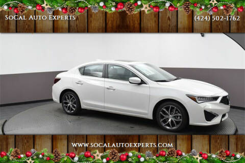 2020 Acura ILX for sale at SoCal Auto Experts in Culver City CA