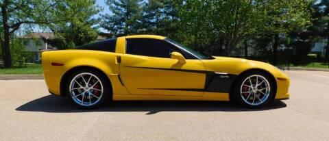 2009 Chevrolet Corvette for sale at WEST PORT AUTO CENTER INC in Fenton MO