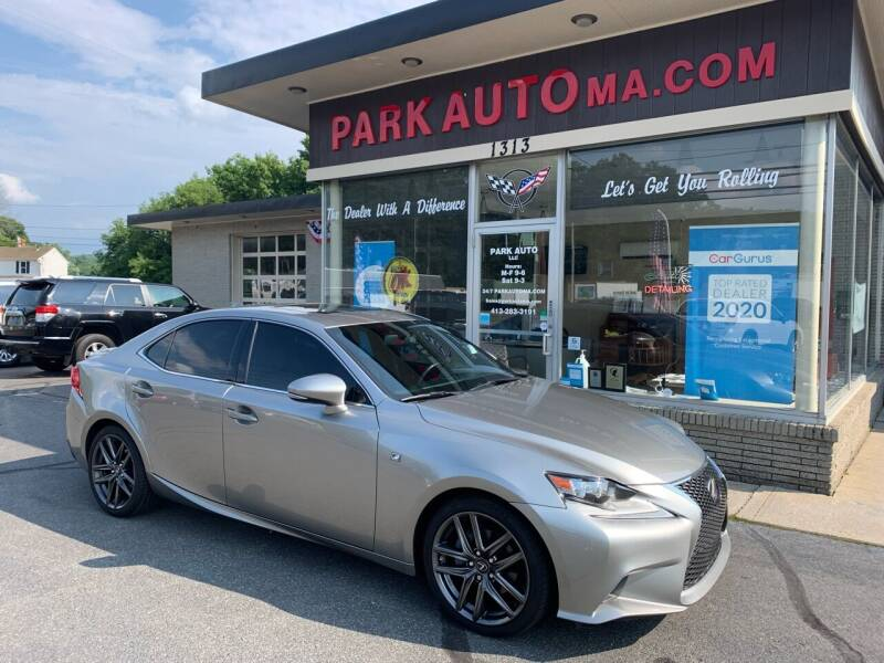 2015 Lexus IS 250 for sale at Park Auto LLC in Palmer MA