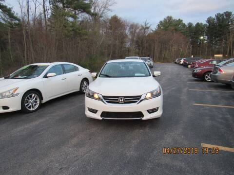 2013 Honda Accord for sale at Heritage Truck and Auto Inc. in Londonderry NH