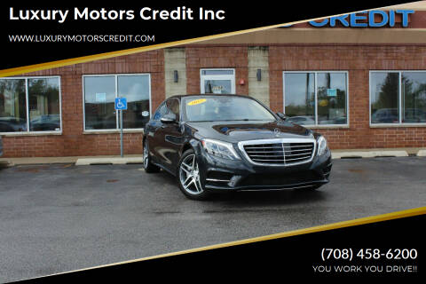 2015 Mercedes-Benz S-Class for sale at Luxury Motors Credit Inc in Bridgeview IL