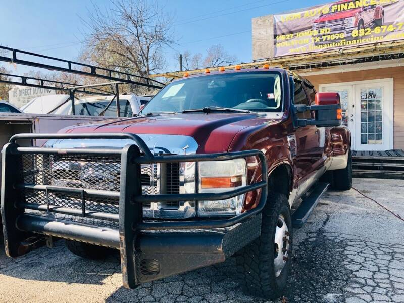 2008 Ford F-350 Super Duty for sale at Lion Auto Finance in Houston TX