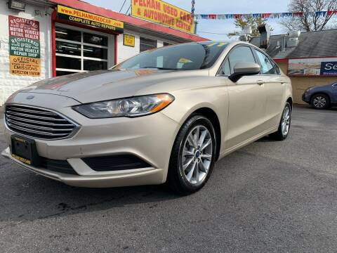 2017 Ford Fusion for sale at PELHAM USED CARS & AUTOMOTIVE CENTER in Bronx NY