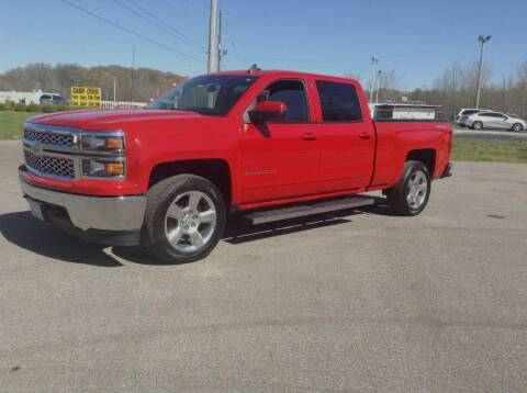 2015 Chevrolet Silverado 1500 for sale at Darryl's Trenton Auto Sales in Trenton TN