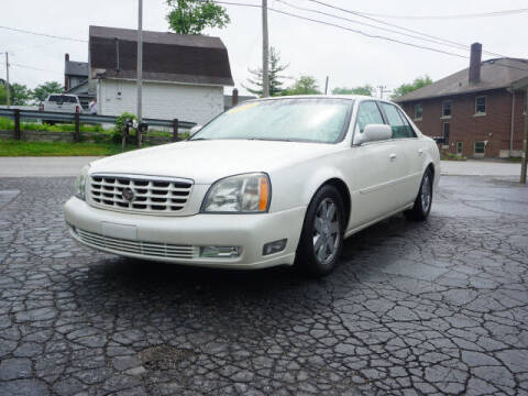2003 Cadillac DeVille for sale at Tom Roush Budget Westfield in Westfield IN