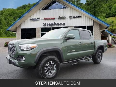 2021 Toyota Tacoma for sale at Stephens Auto Center of Beckley in Beckley WV