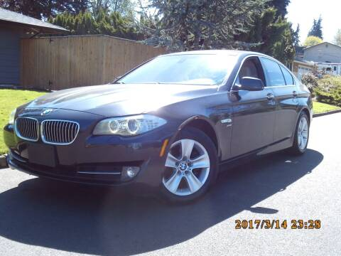 2012 BMW 5 Series for sale at Redline Auto Sales in Vancouver WA